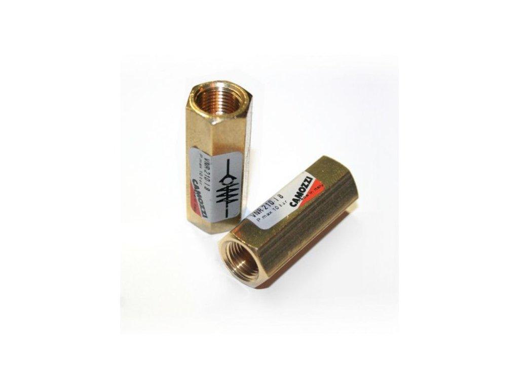 Spätný ventil kovový Camozzi