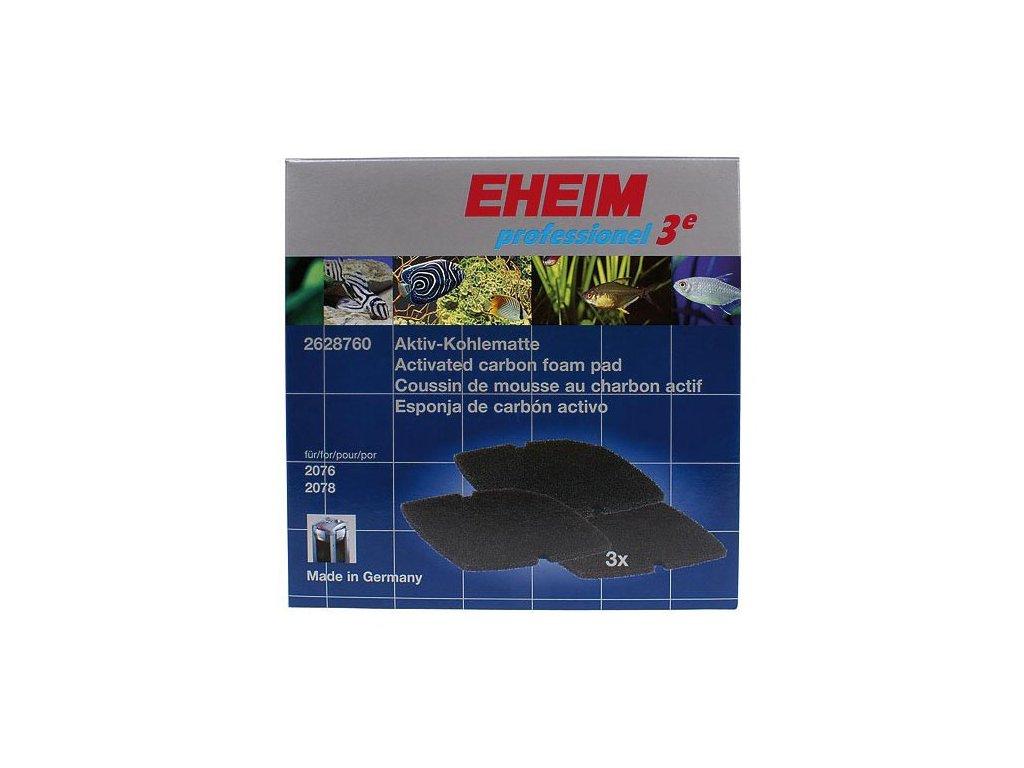 EHEIM aktívne uhlie pre Professionel 3 2076, 2078 3ks