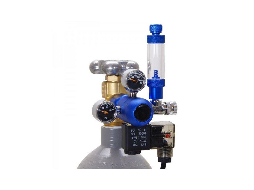 CO2 regulačný ventil s nočným vypínaním
