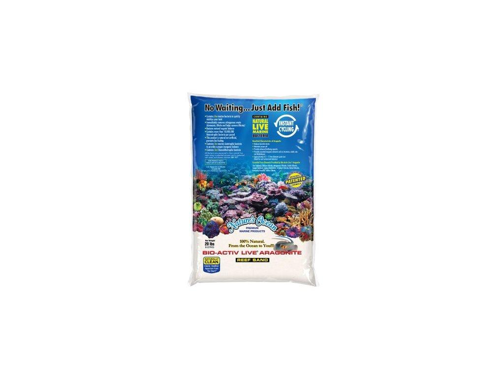 Nature's Ocean White Live Sand 0,1-0.5mm 9kg