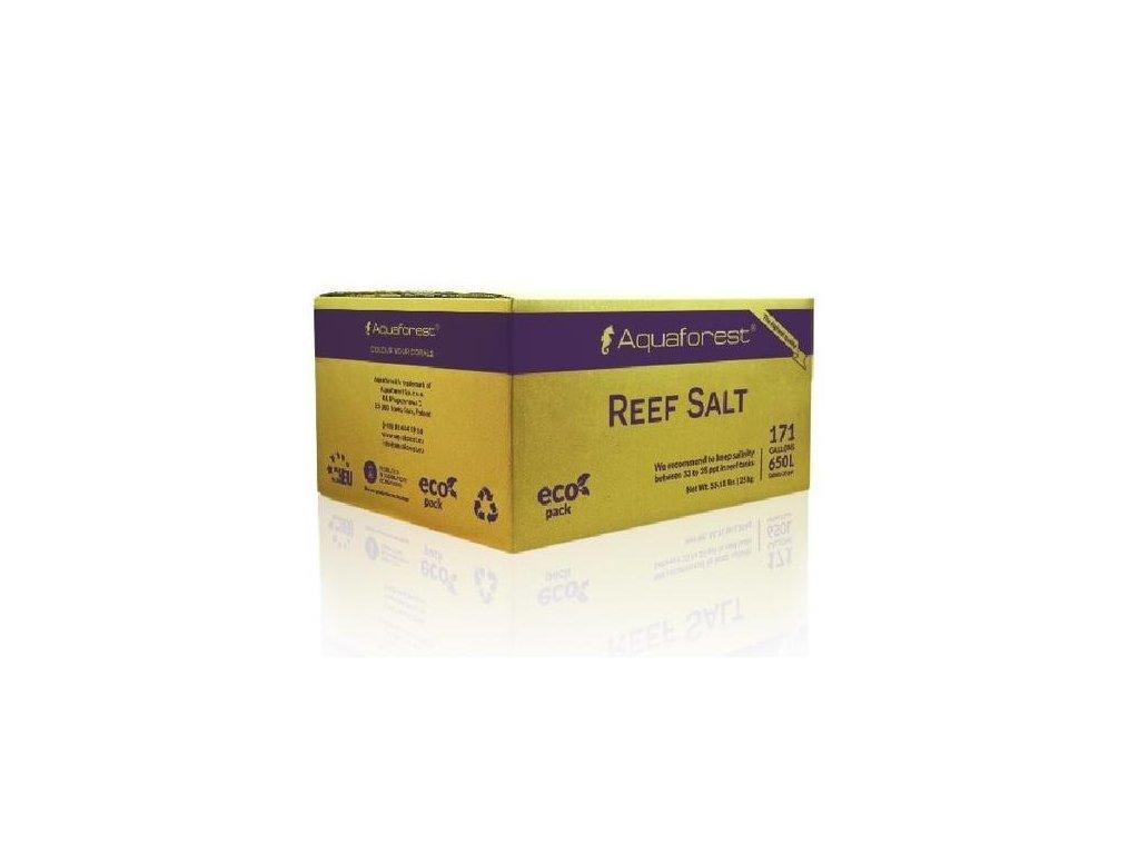 AF Reef Salt - morská soľ pre Soft/LPS/SPS 25kg  balenie vo vreci.