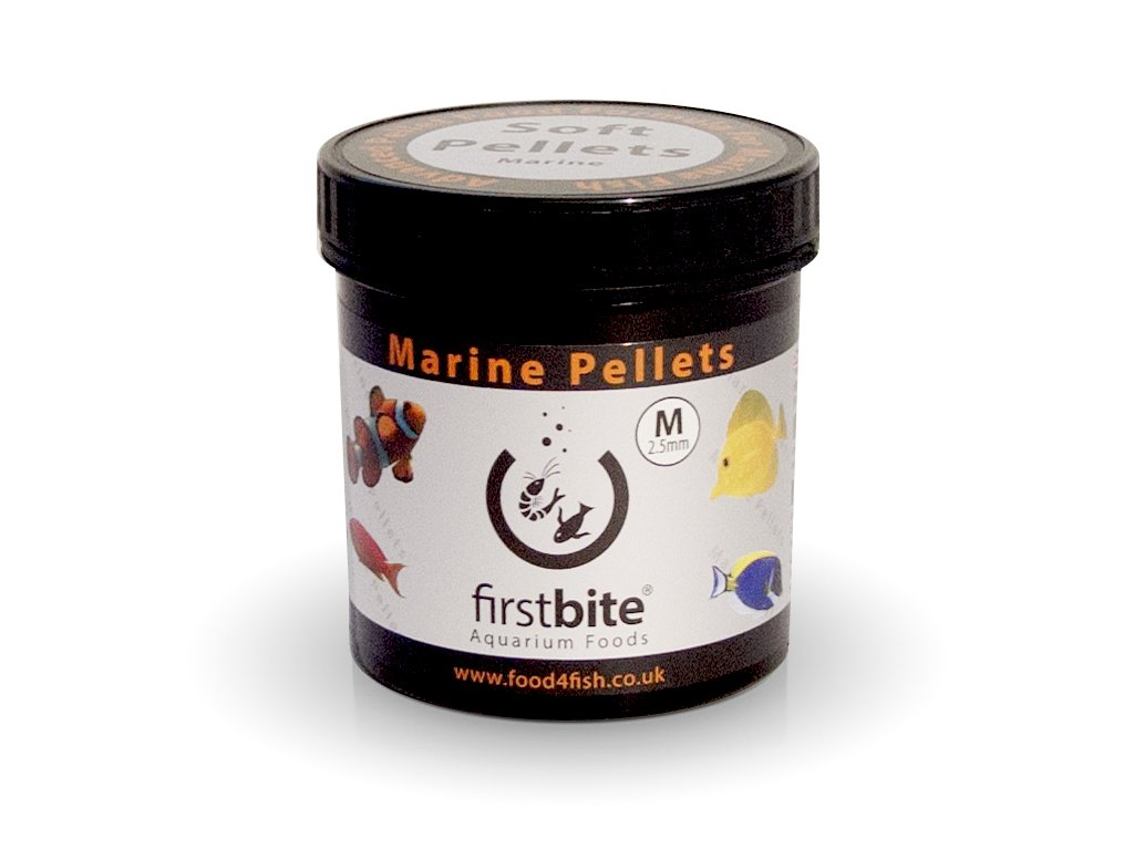 first bite marine pellets m