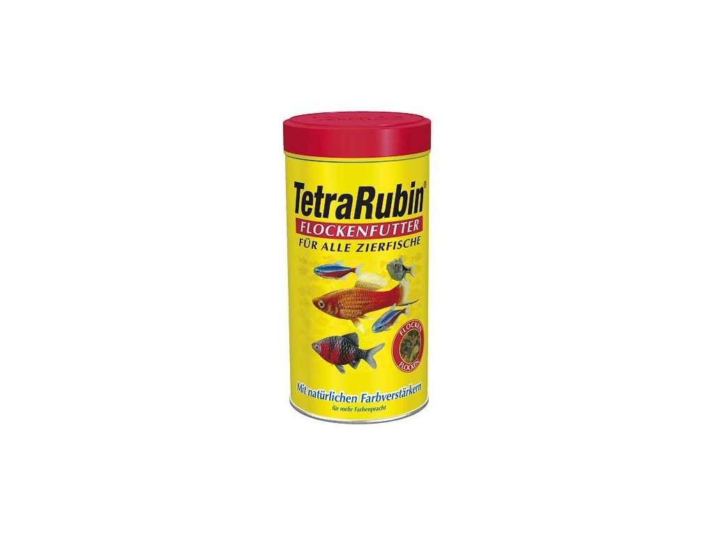 Tetra Rubin 1L vločky color