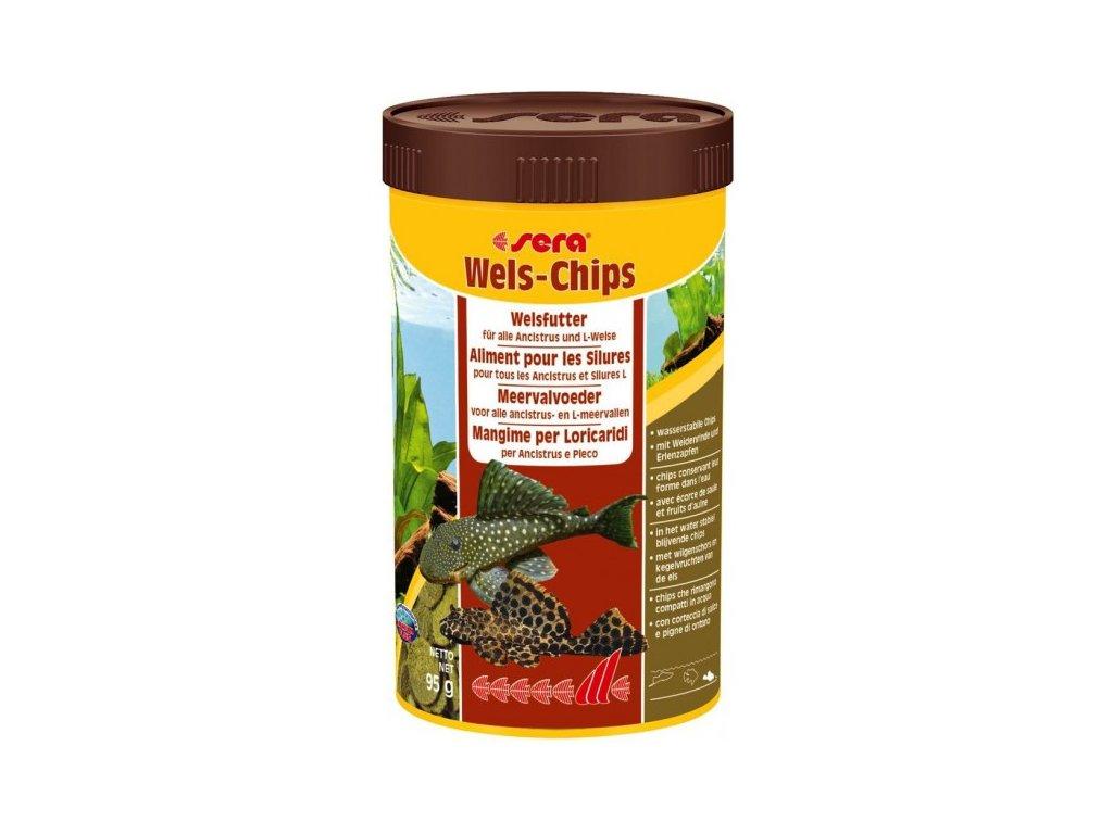 Sera Wels Chips Nature 1000 ml