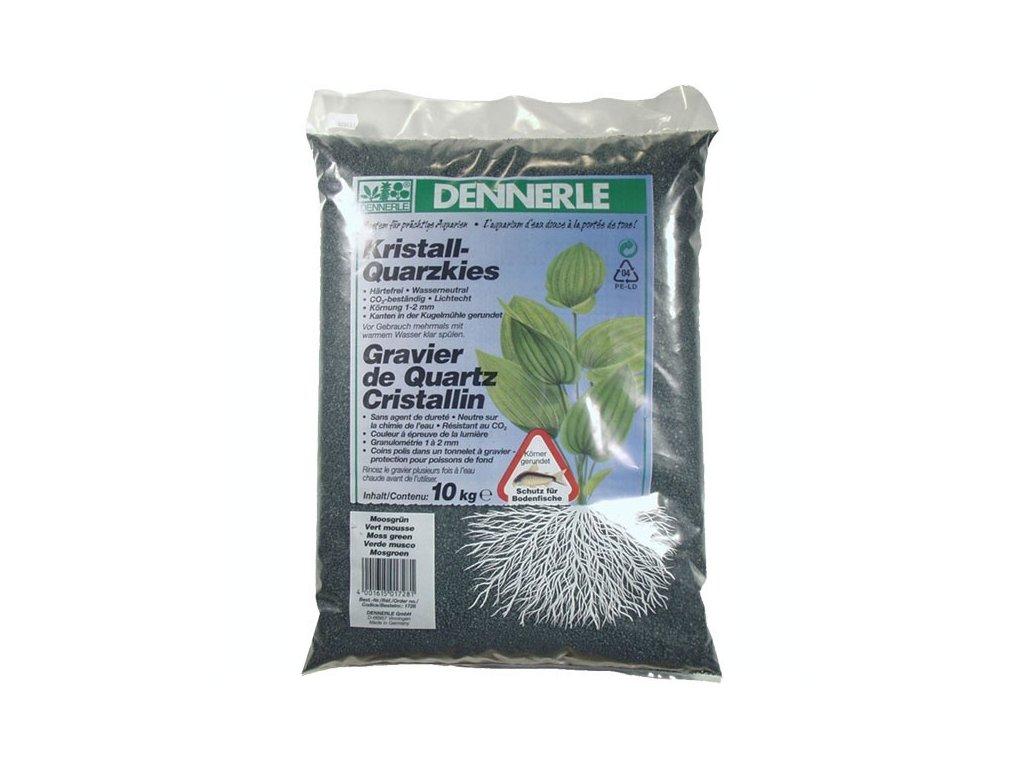 Dennerle Kristall-Quarzkies 10kg - zelený