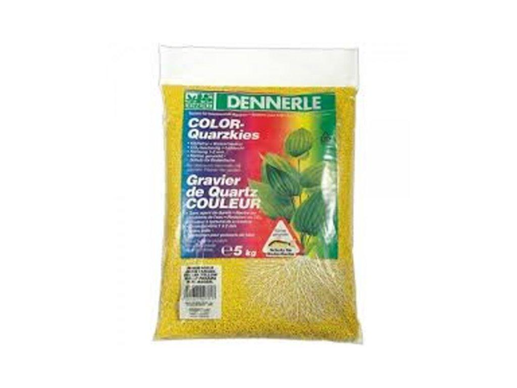 Dennerle Color-Quarzkies 5kg žltý