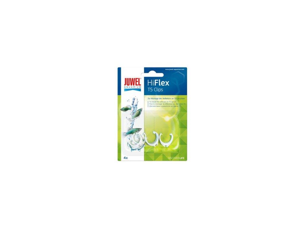 JUWEL HiFlex T5 Clips plast 4ks