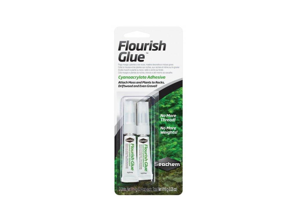 Seachem Flourish Glue 2x4g - lepidlo na machy a rastliny