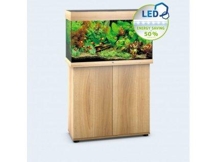 Juwel Rio 125 LED akvárium , 125l svetlá hnedá