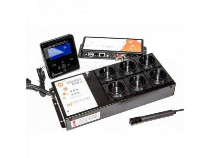 APEX Classic / LAB - riadiaca jednotka, LCD Display, EB6 zásuvky + 2 sondy (Laboratórne pH / teplota), sada