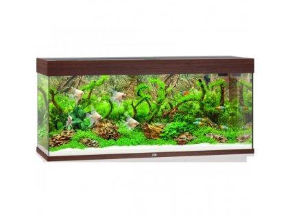 Juwel Rio 240 LED akvárium , 240l tmavá hnedá