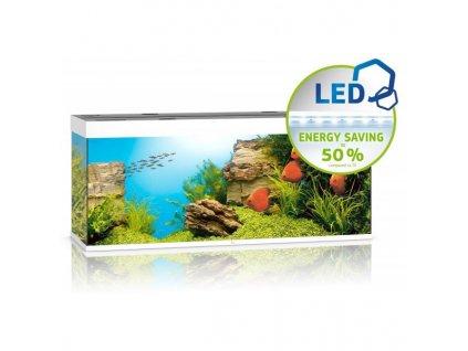 Juwel Rio LED 400 akvárium set Biele 151x51x66 cm, 450 l