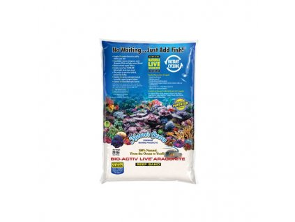 Nature's Ocean White Live Sand 0,1-0.5mm 4,5kg