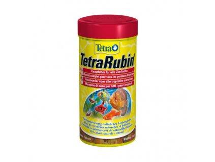 Tetra Rubin 250ml  podporuje vyfarbenie rýb