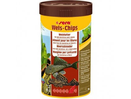 Sera Wels Chips 1000 ml