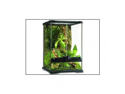 Terárium sklenené 30x30x45cm