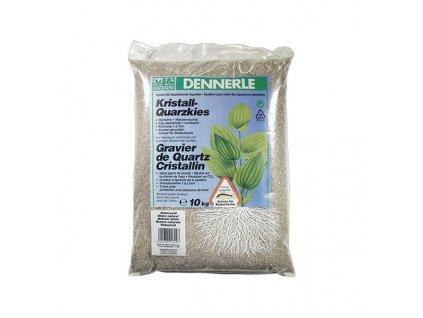 Dennerle Kristall-Quarzkies 10kg - prírodná biela