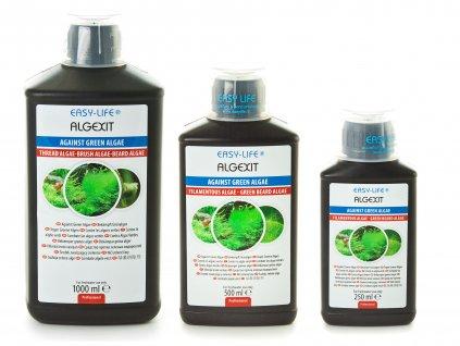 Easy Life ALGEXIT  - odstraňovač riasy  účinkuje na zelenú riasu