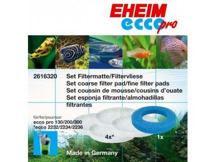 EHEIM ecco pro 2032/2034/2036 - set filtračných médií