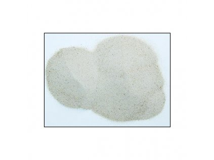 Akváriový piesok 1kg - zrnitosť 0,5-0,8mm