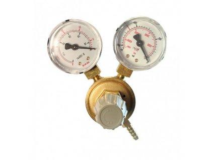 Redukčný ventil CO2 - 2 manometre G3/4