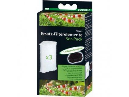 Dennerle  FilterElement náhradná náplň filtru 3ks