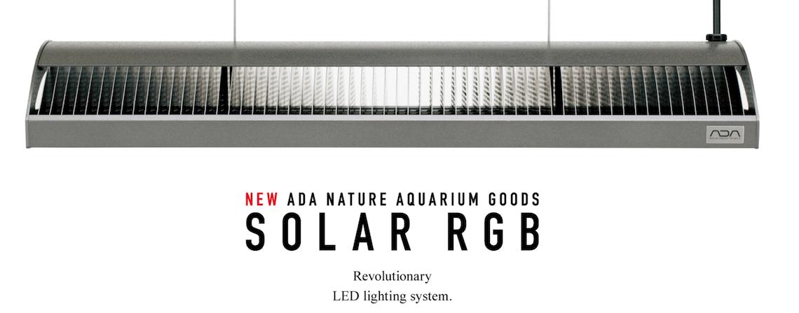 LED osvětlení pro přírodní akvária ADA SOLAR RGB