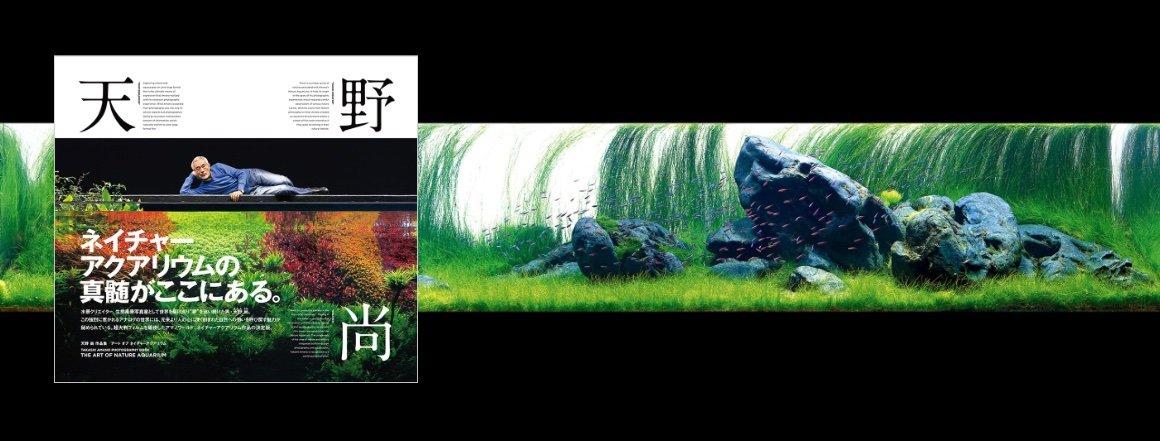 Kniha s dosud nepublikovanými fotografiemi Takashi Amano - The Art Of Nature Aquarium