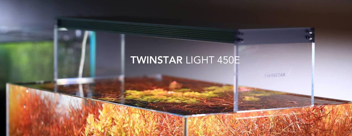 LED osvětlení pro rostlinná akvária TWINSTAR LED LIGHT E/S/SP