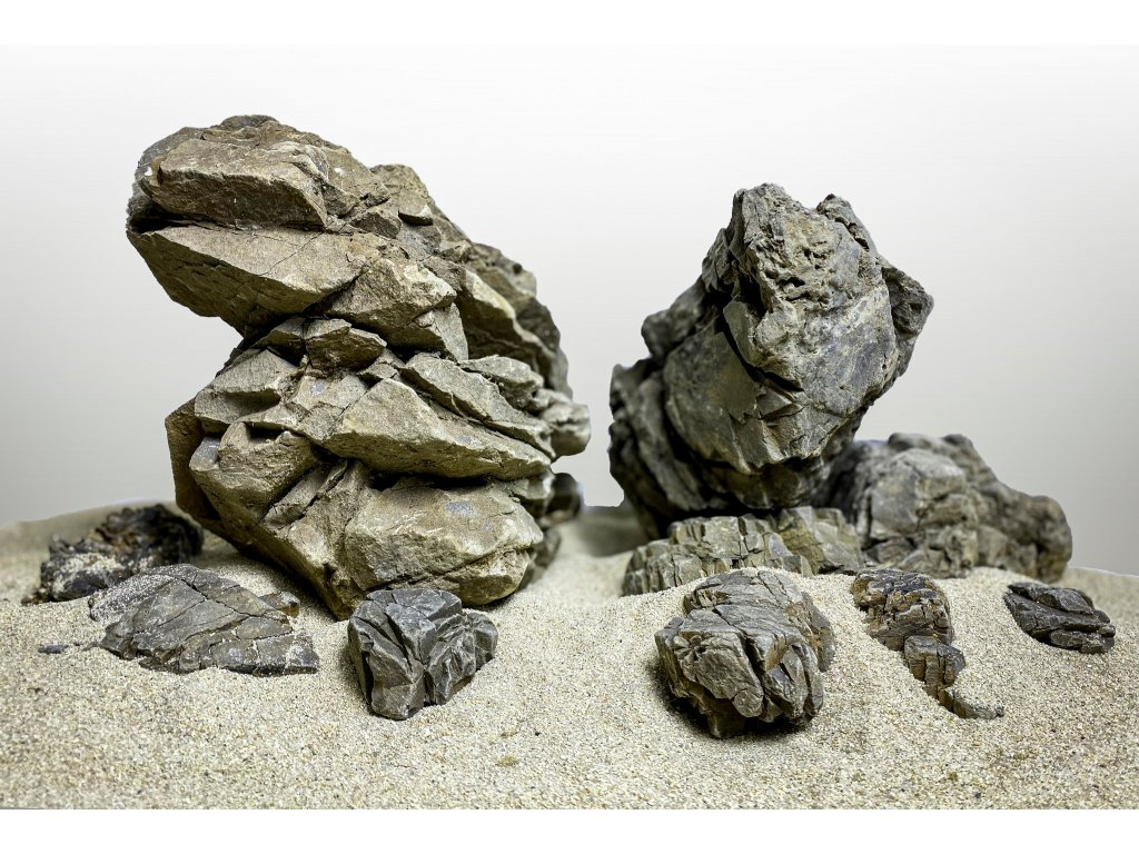 Elderly stone layout