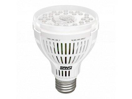 SANSI LED GROW žárovka E27 15W