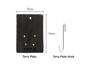 DOOA Terra Plate s DOOA Terra Hook