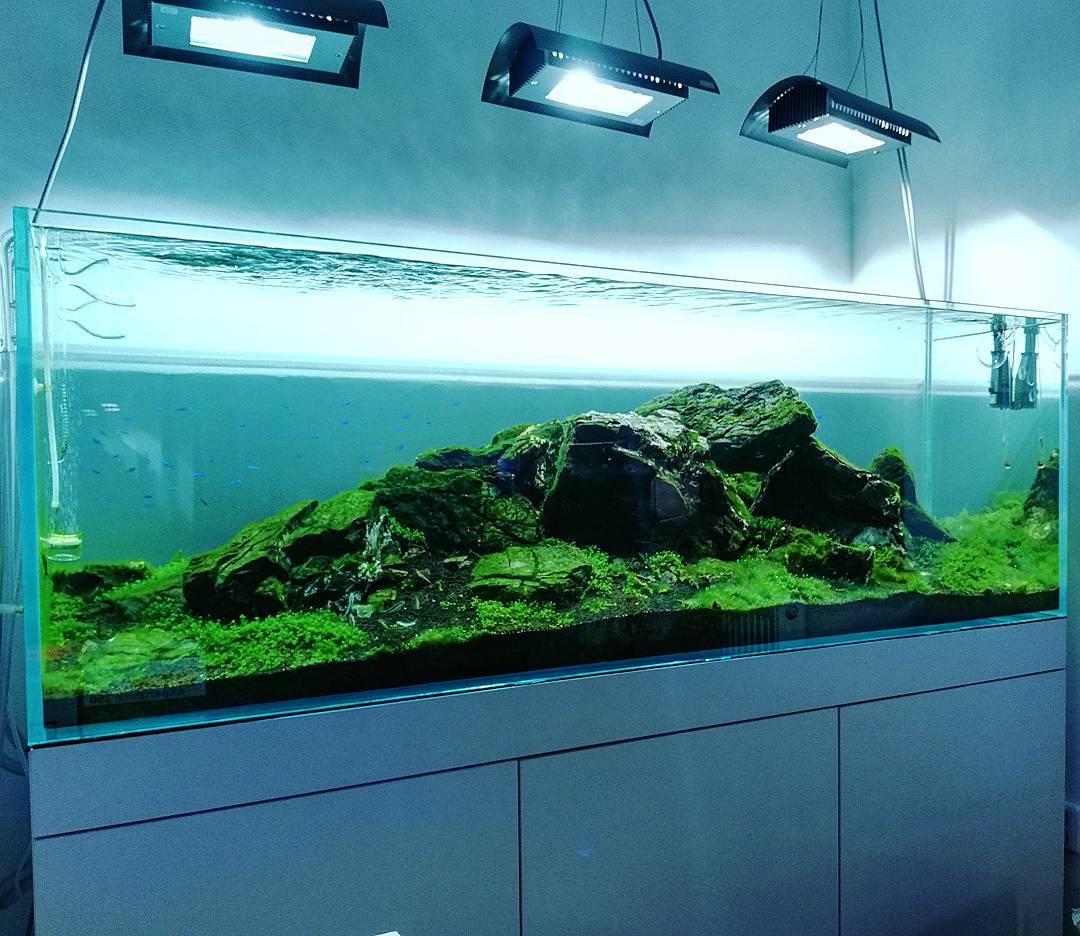 Akvárium optiwhite 180x60x60cm