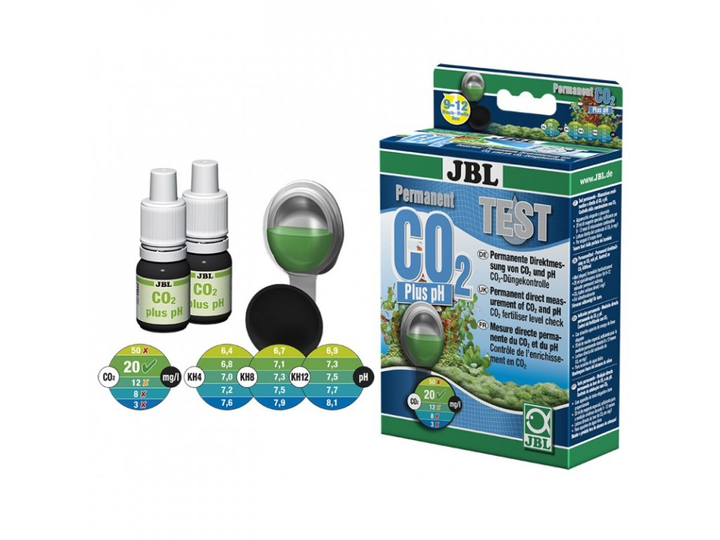 JBL test CO2 - pH 10 ml