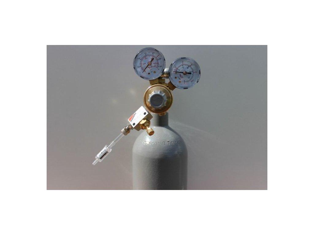 Akvaristika-365.cz Kompletní CO2 systém s 2,1 l lahví bez nočního vypínání