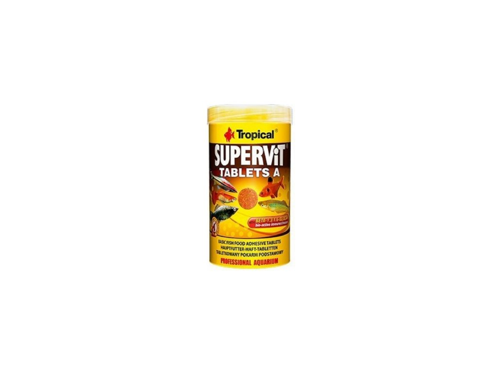 Tropical Supervit Tablets A 250 ml - tablety na sklo