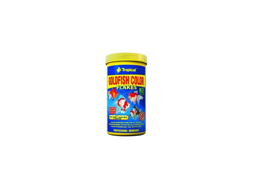 Tropical Goldfish colour flake 250 ml