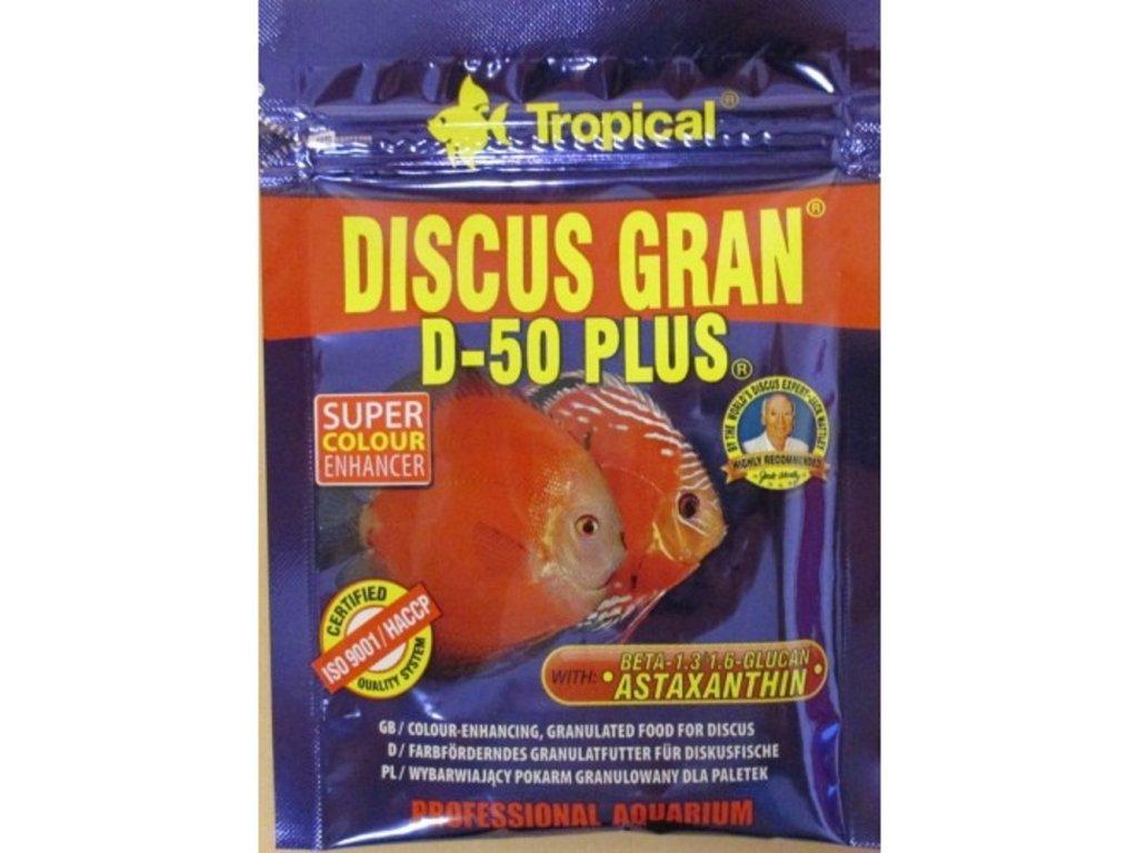 Tropical Discus Gran D-50 Plus 20 g