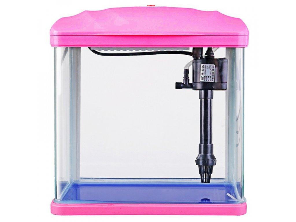 SunSun HR-230 - akvarijní set 7l - růžový