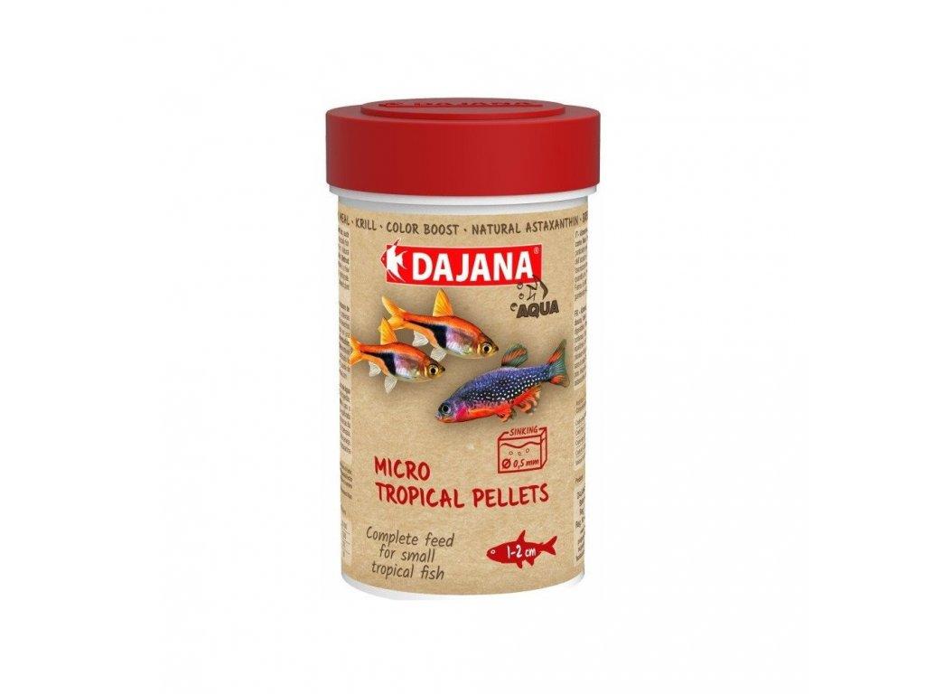 Dajana Mini Tropical Pellets 100 ml