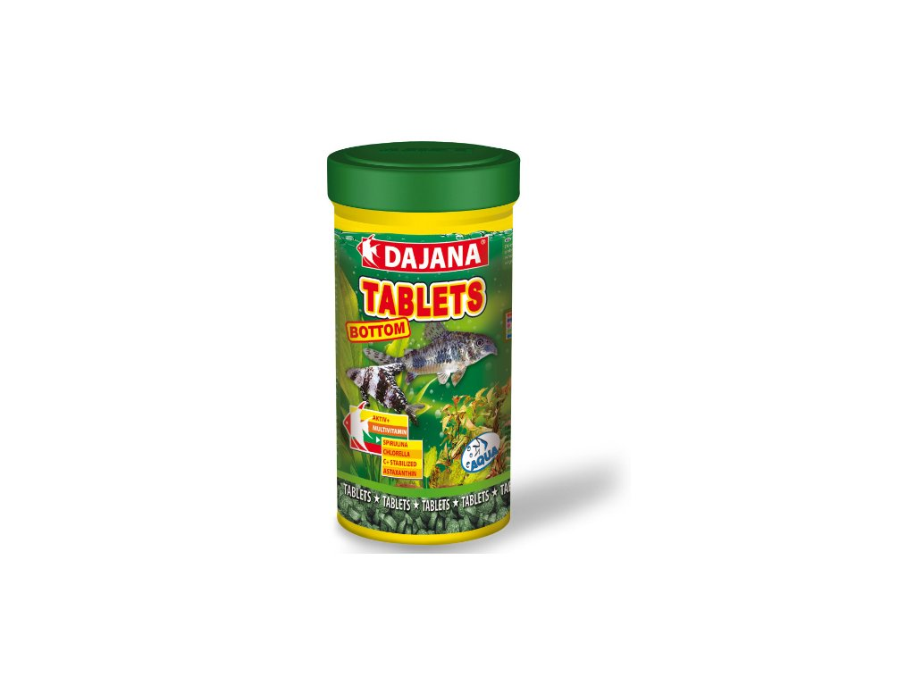Dajana Tablety na dno 250 ml