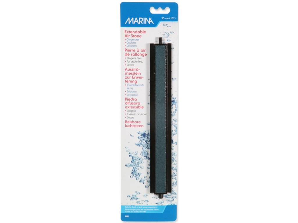 Marina vzduchovací kámen tyčka v plastu 25 cm