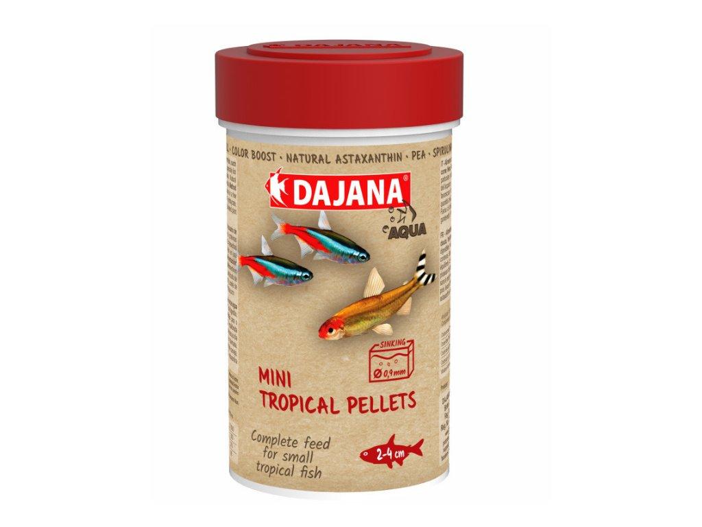 Dajana Mini Tropical Pellets 250 ml