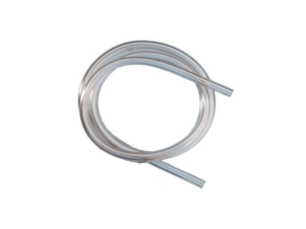 Silikonová vzduchovací hadička - 4m