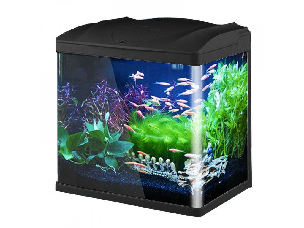 SunSun HR-320 - akvarijní set 19l - černý