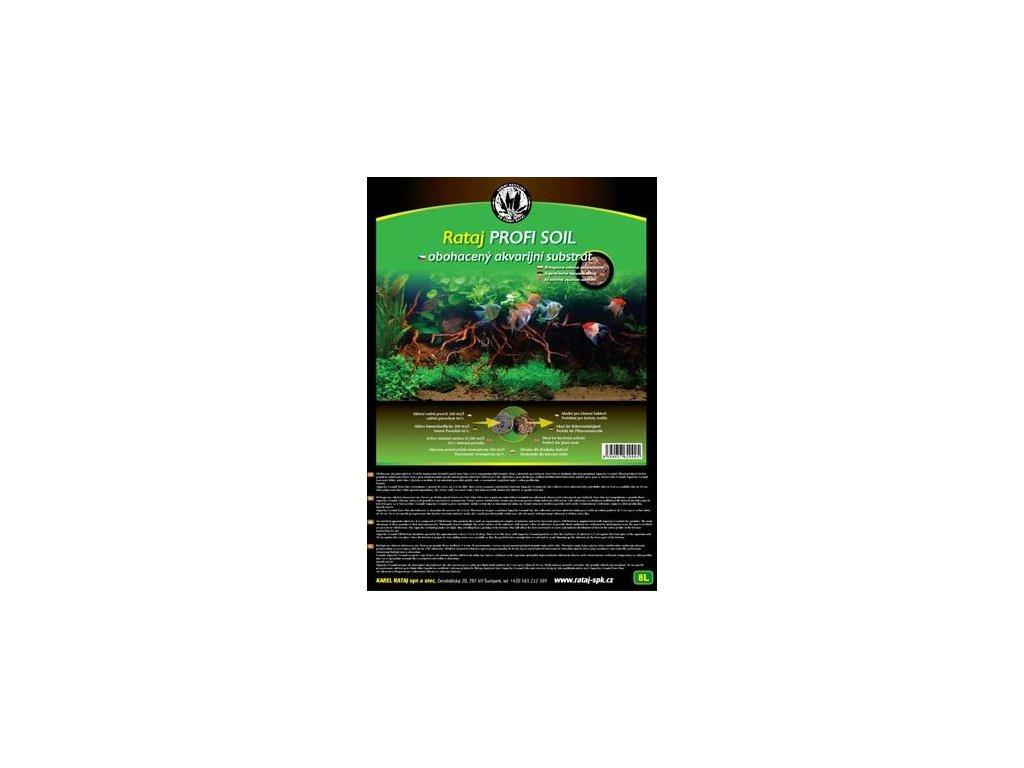 Rataj Profi Soil 8l  + Dárek - 1x Java moss ZDARMA