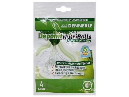 DENNERLE Deponit Nutri Balls 4 kuličky