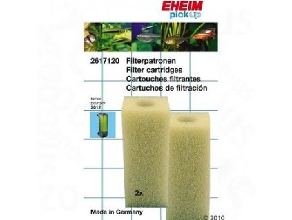 Filtrační náplň Eheim PickUp 2012 - vložka bílá (2ks)