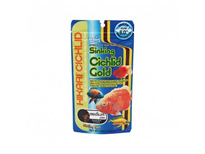 Hikari Cichlid Gold Sinking Medium 100 g