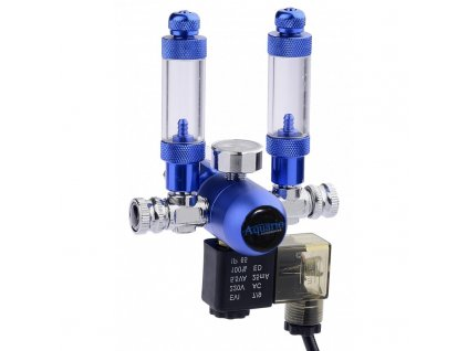 CO2 reduktor BLUE TWIN Professional - vývod na dvě akvária